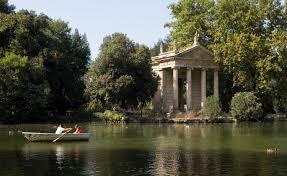 ROME BORGHESE GARDENS