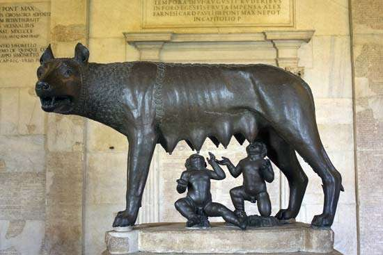 ROME CAPITOL SHE WOLF