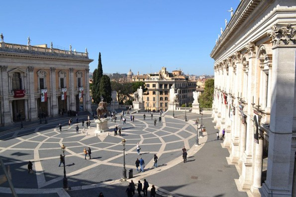 ROME CAPITOL SQUARE VIEW