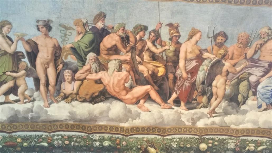 ROME FARNESIAN FRESCO PARADE