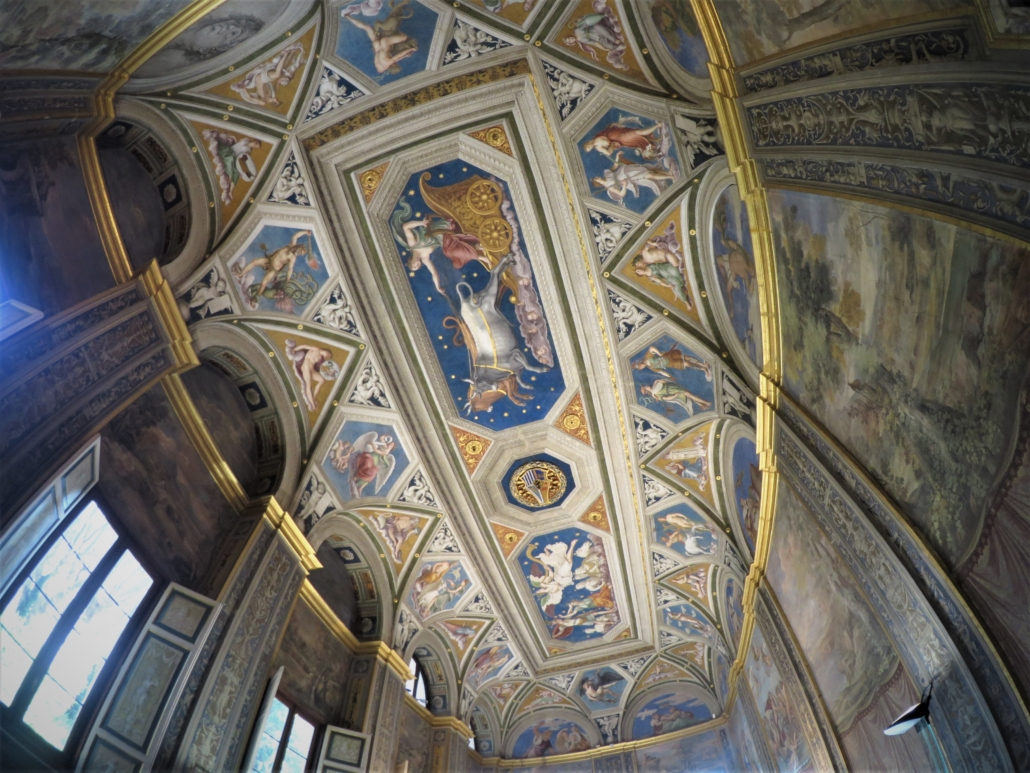 ROME FARNESINA CEILING BLUE