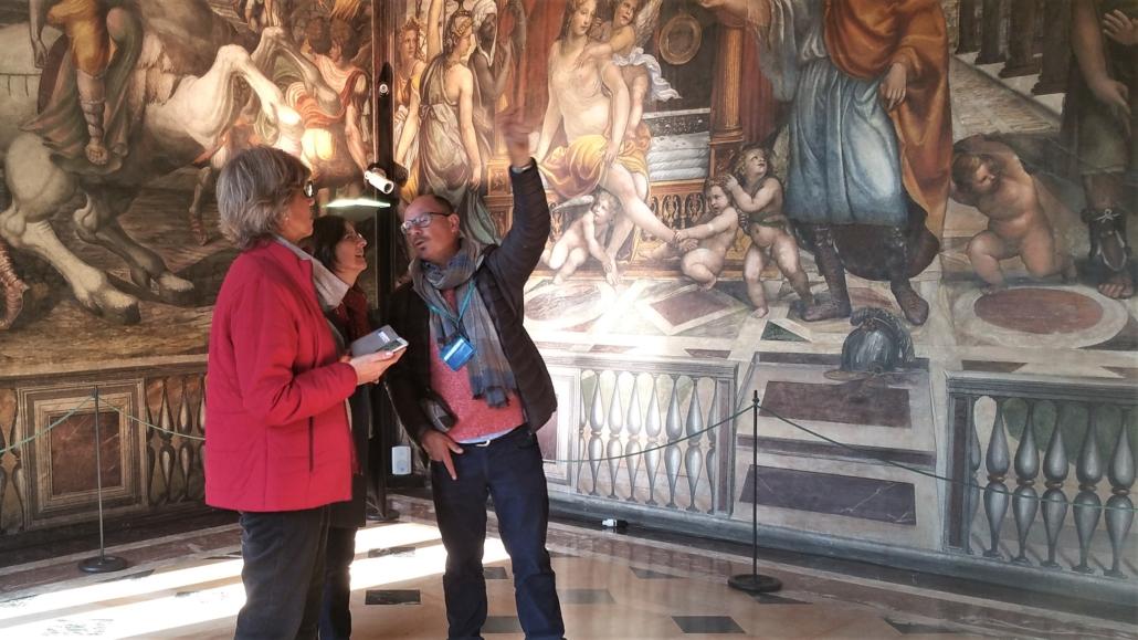 ROME FARNESINA TOUR WII