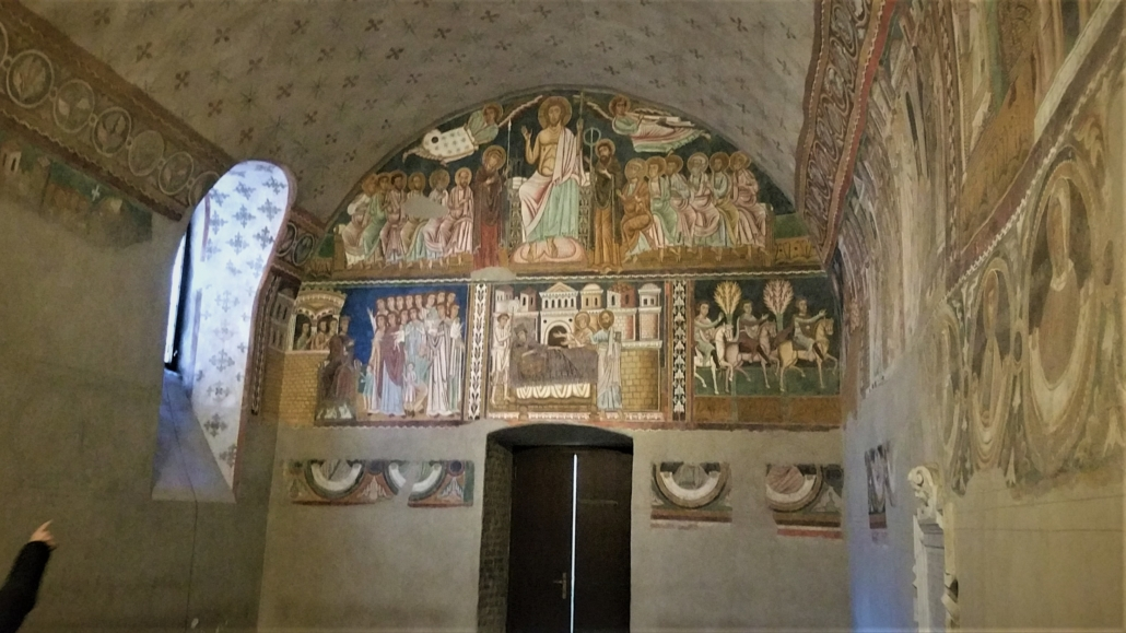ROME PAGAN TO CHRISTIAN CHURCH INTERIOR