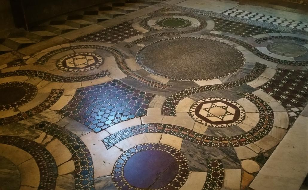 ROME PAGAN TO CHRISTIAN FLOOR