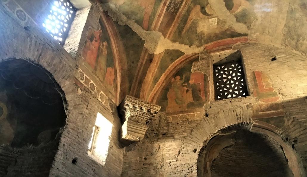 ROME PAGAN TO CHRISTIAN FRESCOES