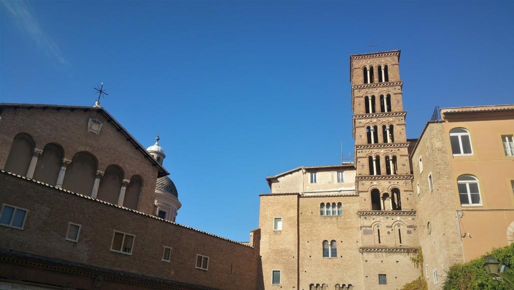ROME PAGAN TO CHRISTIAN PANORAMA
