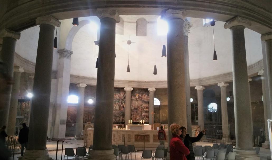 ROME PAGAN TO CHRISTIAN SANTO STEFANO ROTONDO
