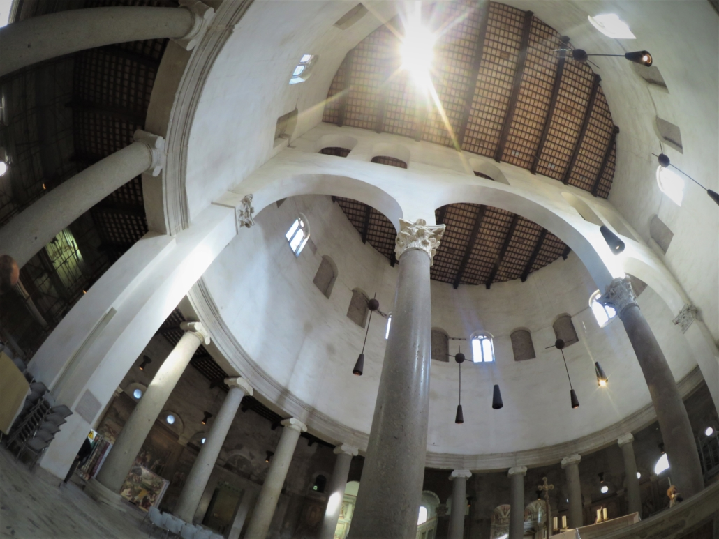 ROME PAGAN TO CHRISTIAN Santo Stefano