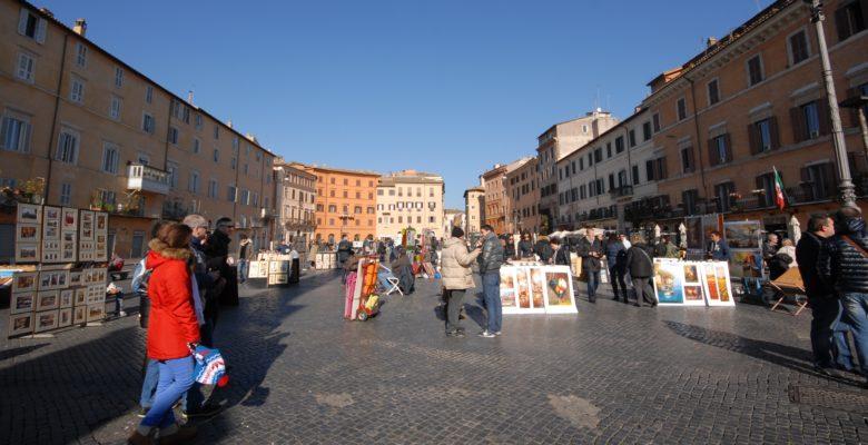ROME WITH KIDS PIAZZA NAVONA