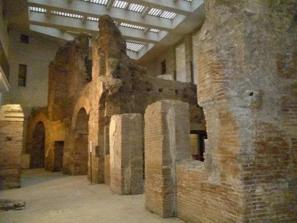 ROME WITH KIDS STADIUM UNDERGROUND