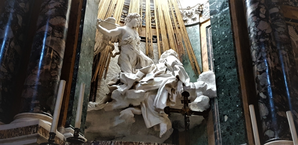 Rome Bernini Santa Theresa Ecstasy