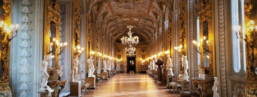 Walks Inside Italy - Private Tours Rome Doria Pamphilij Mirrors Corridor