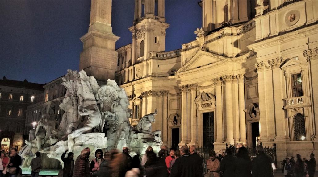FOUR SEASONS' EVENING TOUR OF ROME