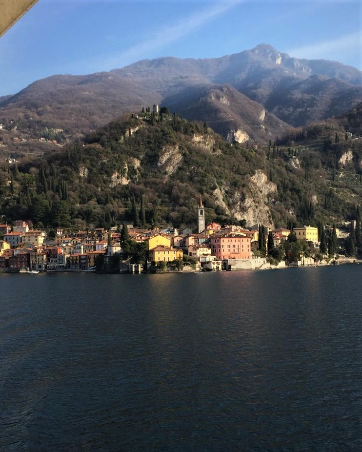 Start our private boat cruise on Lake Como