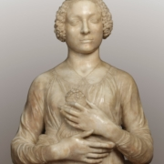 FLORENCE VERROCCHIO FEMALE HEAD