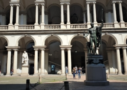 INSIDE BRERA: THE PICTURE GALLERY & AROUND