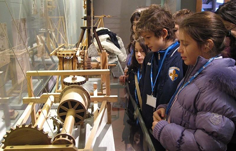 MILAN LEONARDO FOR FAMILIES MUSEUM KIDS