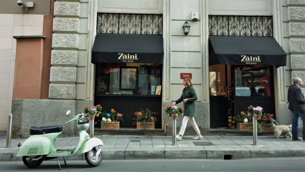 MILAN ZAINI OUTSIDE WITH VESPA Private Tours