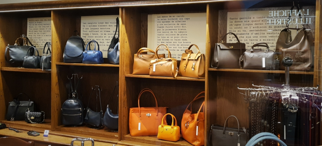 FLORENCE LEATHER BAGS VIEW